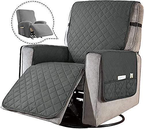 FORCHEER Jacquard Sesselbezug, Sessel-Überwürfe Ohrensessel Überzug Bezug Sesselhusse Elastisch Stretch Husse für Ohrensessel