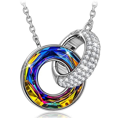 Kate Lynn Kette Damen Halsketten für Frauen Geschenk Geschenke für Frauen Frauengeschenk Silber Kette Österreich Kette Silber Anhänger Schmuck Silberkette Damen