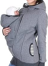 Kangaroo Hoodie Coat for Mom and Baby Maternity Coat Jacket Sweatshirts