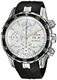 Edox Men's 'Grand Ocean' Swiss Automatic Stainless Steel and Rubber Diving Watch, Color:Black (Model: 01123 3ORCA ABUN)