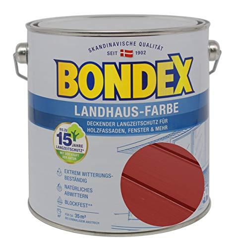 Bondex Landhaus-Farbe 2,50l schwedenrot - 391310