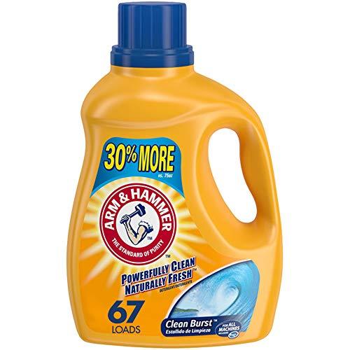 (46% OFF) Arm & Hammer Clean Burst Liquid Laundry Detergent 67 Loads $5.99 Deal