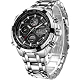 Mens Watches Black Mechanical Automatic...