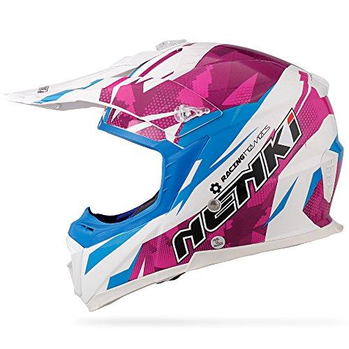 NENKI Casco Motocross NK-316 para Hombres y Mujeres,...