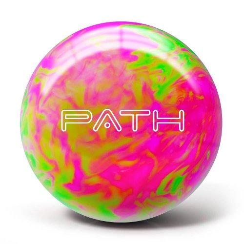 Pyramid Path Bowling Ball (Hot Pink/Lime Green, 6LB)