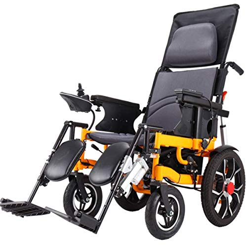 Inicio Accesorios Ancianos Discapacitados Silla de ruedas eléctrica premium Silla de ruedas motorizada plegable portátil Silla de ruedas eléctrica plegable compacta para trabajo pesado Batería de l