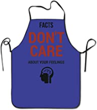 Unisex Facts Don't Care About Your Feelings Adult Funny Kitchen Apron