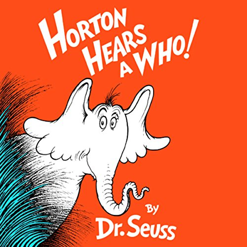 Horton Hears a Who audiobook cover art
