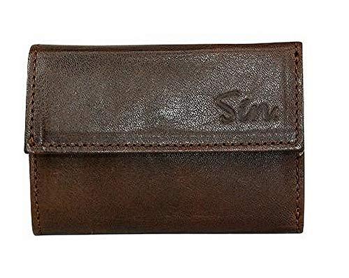 コインホームケース イタリアンレザー 財布 ブラウン(茶) Sin-03