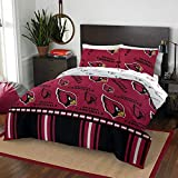 NFL Arizona Cardinals 'Rotary' Queen Bed In a Bag Set, red, Queen