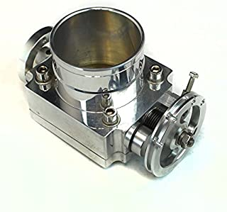 Universal Fit Upgrade Aluminum Fit 70mm Throttle Body w/ Adaptor Plate ( Will Work with Cable Drive Only )