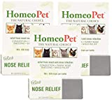 (3 Pack) Homeopet Feline Nose Relief, One Size