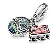 LILIANG Joyería De Bricolaje Compatible con Pulseras Pandora Originales Plata De Ley 925 Hong Kong Peak Tram Dangle Charms Beads Mujeres