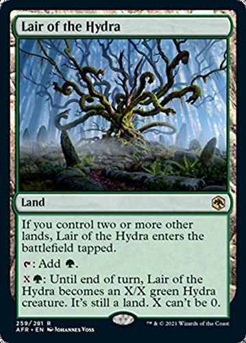Magic: the Gathering - Lair of The Hydra (259) - Adventures in The Forgotten Realms