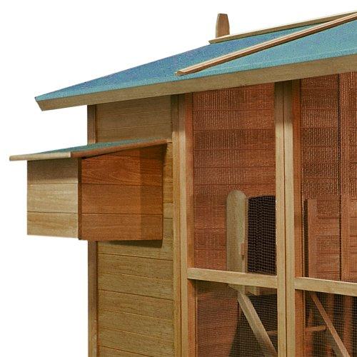 Hühnerstall Hühnerhaus Stall Kleintier Hühner Hase Huhn Stall Haus Hasenstall - 2