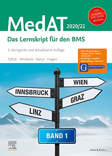 MedAT Humanmedizin/Zahnmedizin 2020/2021- Band 1: Das Lernskript für den BMS - Mit Zugang zu Lernskript.get-to-med.com