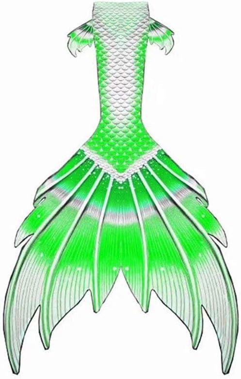 XCJ Mermaid Tail Kids Girls Mermaid Swimsuit Mermaid Swimming Co