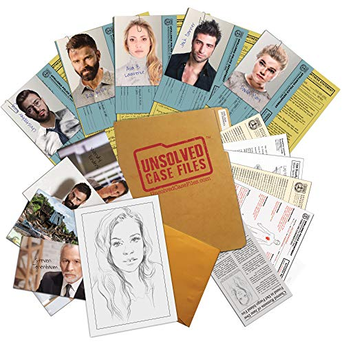 UNSOLVED CASE FILES   Doe, Jane - Cold Case Murder Mystery Game - Can You Solve The Crime? Who Killed Jane Doe?