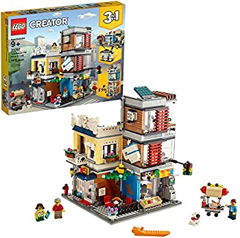 LEGO Creator 3-in-1 Townhouse Pet Shop & Cafe 31097 Store Building Set