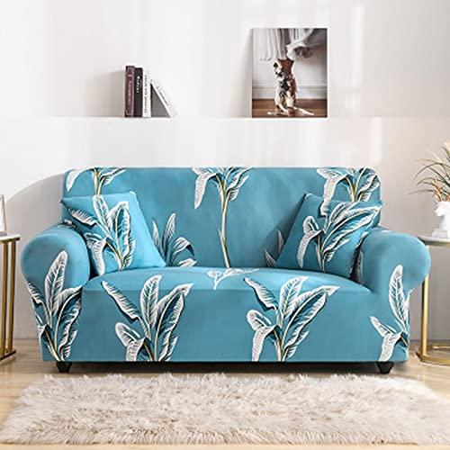 ASCV Elastische Sofabezüge für das Wohnzimmer All-Inclusive rutschfeste Couchbezug L-Form Ecksofa Schonbezug A6 1-Sitzer
