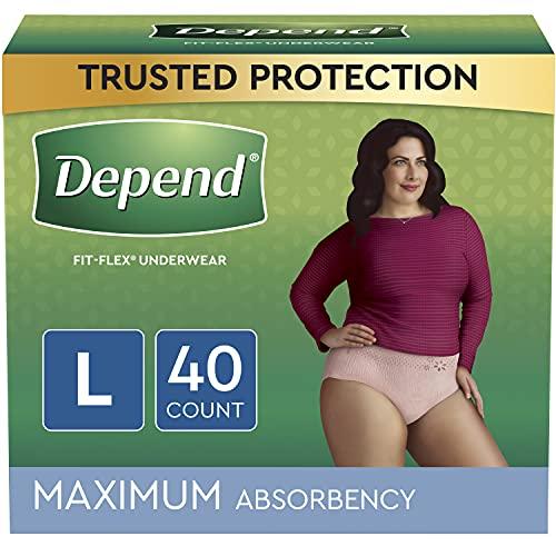 Sous-vêtements pour incontinence pour femme Depend Fit-Flex