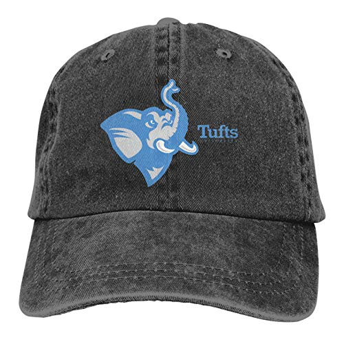Baseball Caps, Original Exclusive Classic Tu-Fts University Hat with Button and Sweatband Adjustable Tie Hats for Women Men