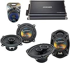 Compatible with Dodge Challenger 2008-2014 OEM Speaker Upgrade Harmony R69 R5 & CXA300.4 Amp (Renewed)