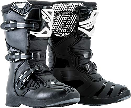 FLY Racing Maverik Boots for Motocross, Off-road, and ATV riding (SZ 02,BLACK)