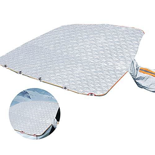 KKSONICE Parasol para coche, plegable, para verano, contra la radiación, el sol, el polvo, la nieve, el hielo y las heladas