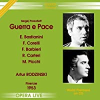 Prokofiev: Guerra e Pace (War & Peace) by Ettore Bastiniani (2005-03-29)