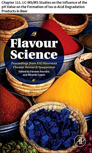 Flavour Science: Chapter 111. LC-MS/MS Studies on the Influence of the pH Value on the Formation of Iso-α-Acid Degradation Products in Beer