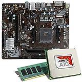 AMD A10-9700 / MSI A320M-A PRO MAX / 8GB Mainboard Bundle | CSL PC Aufrüstkit | AMD A10-9700 APU 4X 3500 MHz, 8GB RAM, Radeon R7, GigLAN, 7.1 Sound | Aufrüstset | PC Tuning Kit
