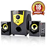 iBELL Castor E210 2.1 Channel Multimedia Home Theatre Speaker System with Bluetooth, USB