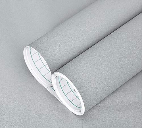 Hava Kolari Klebefolie Selbstklebende Plotterfolie für Möbel,Küche,Kühlschrank Auch als Moebelfolie Hintergrundbild (Grau)