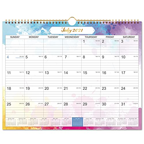 2021-2022 Wall Calendar - Monthly Hanging Calendar Planner 2021-2022, July 2021-December 2022,15' x 11.5', Perfect for Planning & Organizing