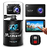 VanTop 4K Action Cam mit Touchscreen, 20MP WiFi Ultra HD wasserdichte Action Kamera, 30m...