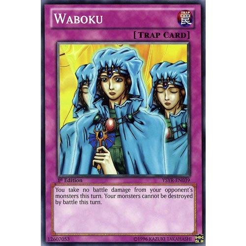 Yu Gi Oh : YSYR EN039 1st-Ed Waboku cartes communes (Yugi Reloaded Yu-Gi-Oh Cartes simples)