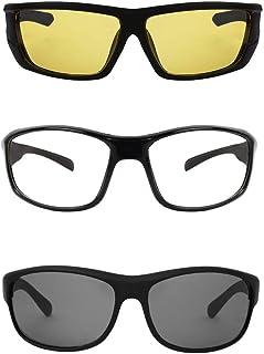 cb63294fc35f Ivonne new Collection Men's Sunglasses Yellow, White & Black Combo pack ...