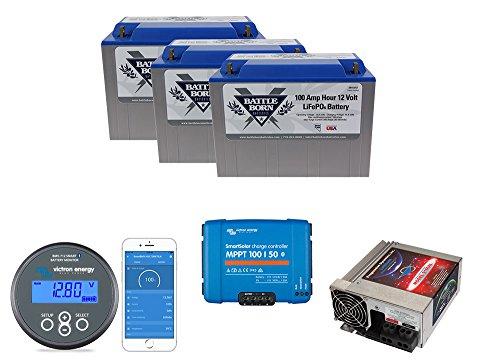 Battle Born Batteries Less Junk More Journey 300ah Lithium Power Bundle