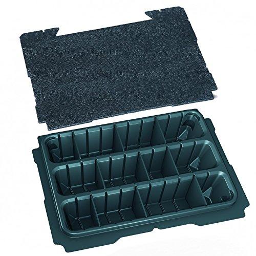 TANOS systainer® T-Loc I Einsatz 3-fach geteilt + Deckeleinlage 80500036