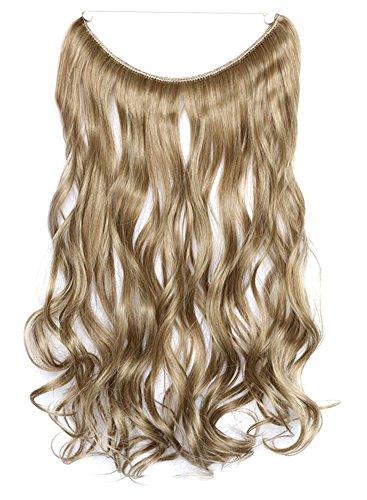 Icegrey 45,7 cm Extensions de cheveux ondulés Cheveux humains