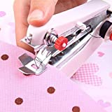 yiiena Portable Needlework Cordless Mini Manual Clothes Sewing Machine Industrial Sewing Machines