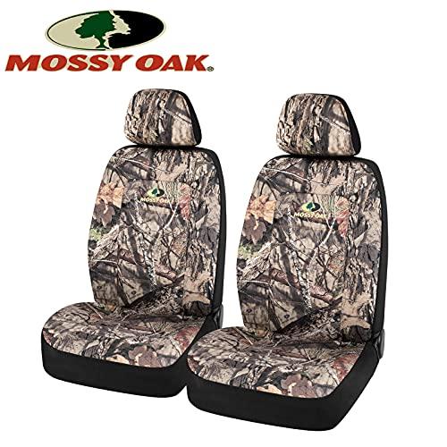 MOSSY OAK CAMO 좌석 커버 저렴한 백 면으로 만든 능직물 에어백환 UNIVERSIAL 에 맞게 가장 물통의 좌석 공식 라이선스 제품