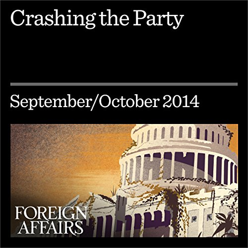 Crashing the Party audiobook cover art