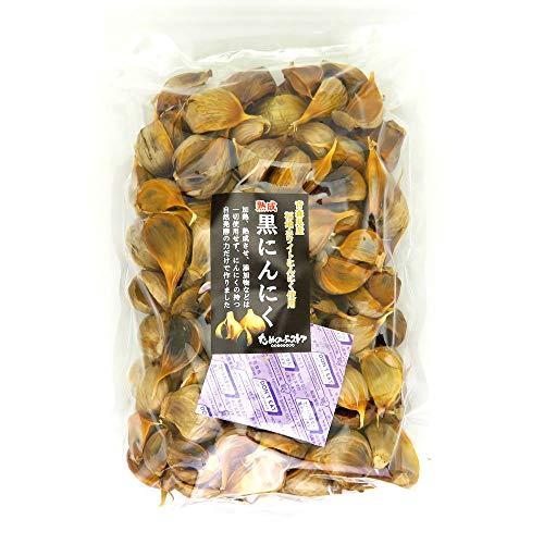 ためのぶの黒 青森県産 黒にんにく 訳ありバラ粒タイプ 1kg (約4ヶ月分)