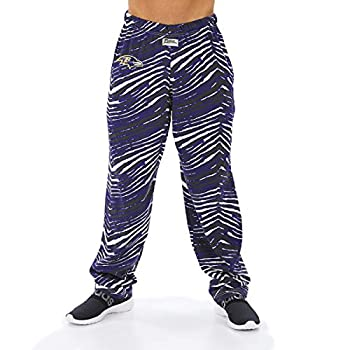 NFL Men s Classic Zebra Print Team Logo Pants Baltimore Ravens XXX-Large