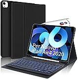 SENGBIRCH Tastiera per iPad Air 4 2020, Custodia con Tastiera Italiano per iPad 10.9/iPad PRO 11...