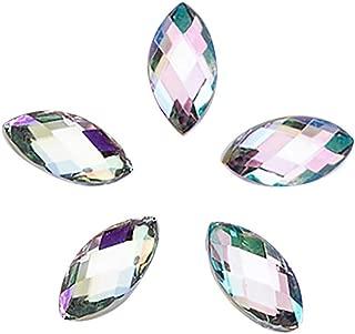 utda.sh-fs women's nails 500Pcs 3D Gold Silver Nail Art Glitter Transfer Metallic Nail Stickers Rhinestones Flower Dream Catcher (G)