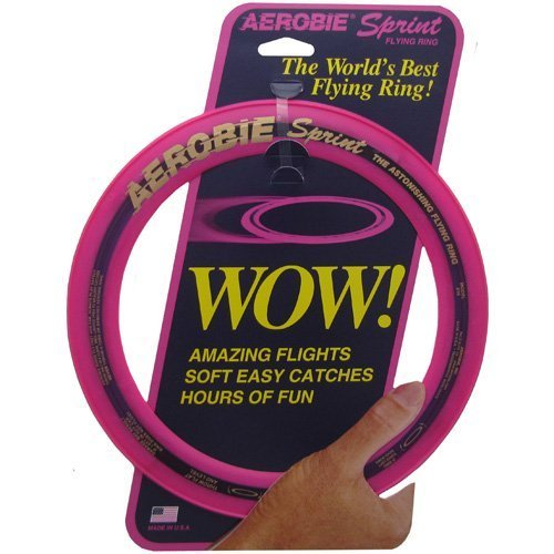 Aerobie Sprint Flying Ring 10quot Diameter Assorted Colors