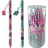 Disney Minnie Jumbo Pencil with Pencil Sharpener by Disney